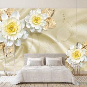 Gạch tranh trang trí ốp tường 3D Phòng ngủ