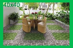 Gạch sân vườn 40x40
