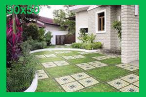 Gạch sân vườn 50x50