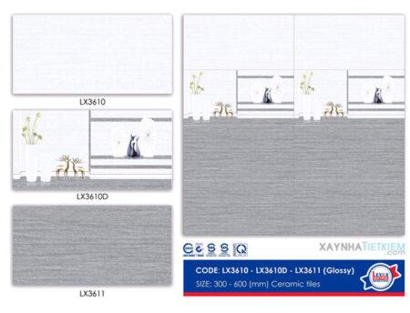 Gạch ốp tường Viko 30x60 LX3610-LX3610D-LX3611