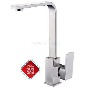 Vòi rửa chén nóng lạnh Inox-304 KASAI KS-013D