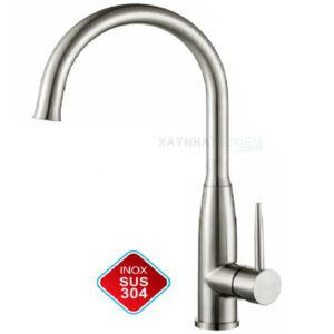 Vòi rửa chén nóng lạnh Inox-304 KASAI KS-013N