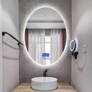 Gương soi nhà tắm đèn Led LARTO LTGLED 009