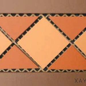 Gạch chống nóng sân thượng Viglacera listelo 40x20