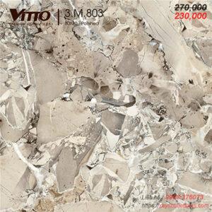 Gạch lát nền bóng kính Vitto 80x80 803