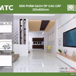 Gạch ốp tường Sunrise 30x60 MTC9280-9281-9282