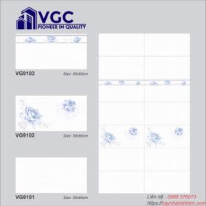 Gạch ốp tường Sunrise 30x60 VG9101-VG9102-VG9103
