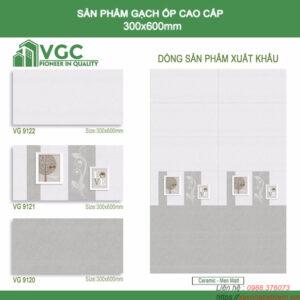 Gạch ốp tường Sunrise 30x60 VG9120-9121-9122