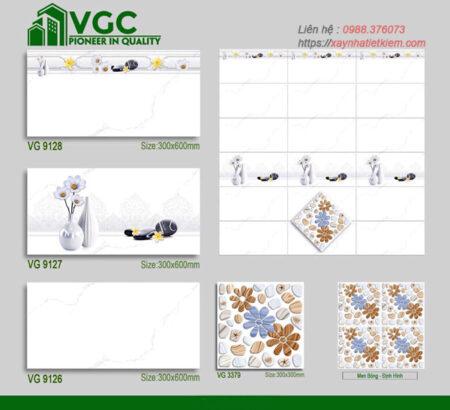 Gạch ốp tường Sunrise 30x60 VG9126-9127-9128