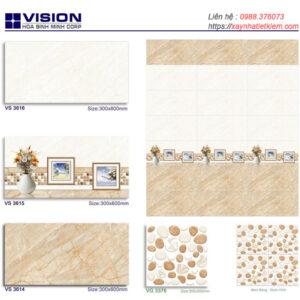 Gạch ốp tường Sunrise 30x60 VS3614-VS3615-VS3616
