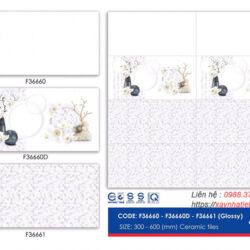 Gạch ốp tường Viko 30x60 F36660-F36660D-F36661
