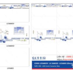 Gạch ốp tường Viko 30x60 LX36805-LX36805D-LX36805V
